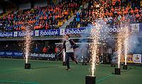 Den Bosch - Rabo fandag 2019 . hockey clinics met de spelers van het Nederlandse team. opkomst van international  keeper Sam van der Ven (Ned)   COPYRIGHT KOEN SUYK