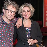NLD/Amsterdam/20190414 - Uitreiking Annie M.G. Schmidt-prijs 2019, Milou Frencken en partner Frenk van der Linden