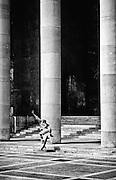 Skate boarder, Paris