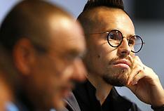Napoli Press Conference - 16 October 2017