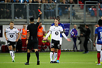 Vålerenga VIF - Rosenborg RBK , 01.09.2019 Intility Arena ,  Mike Jensen får rødt kort ,   Foto: Eirik Førde