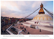 Boudhanath, Kathmandu, Nepal, National Geographic (Thai ed.)