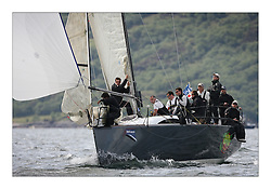 Sailing - The 2007 Bell Lawrie Scottish Series hosted by the Clyde Cruising Club, Tarbert, Loch Fyne..Day 2 racing with light to medium winds from the North west..Overall winner  IRL2007 Jump Juice the Ker 37 in Class one..