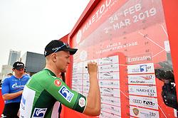 March 1, 2019 - Emirati Arabi Uniti - Foto LaPresse - Massimo Paolone.1 Marzo 2019 Emirati Arabi Uniti.Sport Ciclismo.UAE Tour 2019 - Tappa 6 - da Ajman a Jebel Jais - 180 km.Nella foto: Stepan Kuriyanov (Gazprom - RusVelo)..Photo LaPresse - Massimo Paolone.March 1, 2019 United Arab Emirates.Sport Cycling.UAE Tour 2019 - Stage 6 - Ajman to Jebel Jais - 111,8 miles.In the pic: Stepan Kuriyanov  (Credit Image: © Massimo Paolone/Lapresse via ZUMA Press)