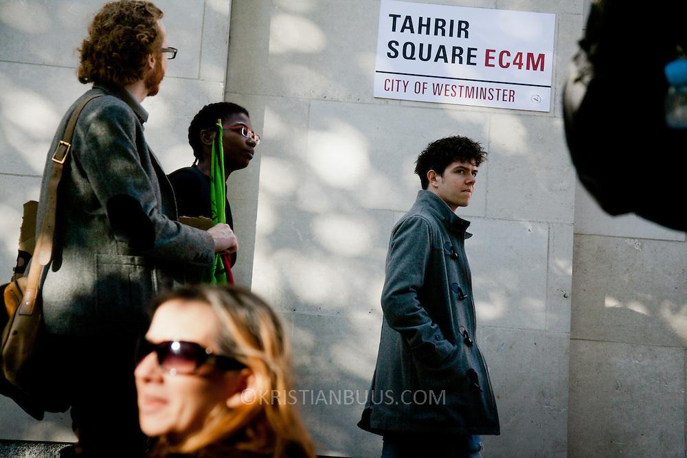 St Paul's Square renamed Tahrir Square.