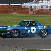 1964 Chevrolet Corvette Stingray driven by Nick Jarvis/Stig Blomqvist in the RAC TT Celebration at Goodwood Revival 2019