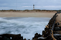 NC00811-00...NORTH CAROLINA - Cape Hatteras Lighthouse in the Cape Hatteras National Seashore near the town of Buxton.