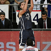 Anadolu Efes's Sasha Vujacıc during their Turkish Airlines Euroleague Basketball Top 16 Group E Game 4 match Anadolu Efes between Olympiacos at Sinan Erdem Arena in Istanbul, Turkey, Wednesday, February 08, 2012. Photo by TURKPIX