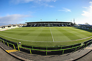 The New Lawn, home of Forest Green Rovers during the EFL Sky Bet League 2 match between Forest Green Rovers and Luton Town at the New Lawn, Forest Green, United Kingdom on 16 December 2017. Photo by Shane Healey.