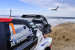 November 16, 2018 - Levi, Finlande - Ambiance rallye (Credit Image: © Panoramic via ZUMA Press)