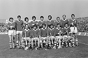 Cork Team before the All Ireland Senior Hurling Final, Cork v Kilkenny in Croke Park on the 3rd September 1972. Kilkenny 3-24, Cork 5-11. P Barry, A Maher, P McDonnell, B Murphy, F Norberg (capt), S Looney, C Roche, J McCarthy, D Coughlan, G McCarthy, M Malone, P Hegarty, C McCarthy, R Cummins, S O'Leary, Subs, Ted O'Brien for Norberg, D Collins for Hegarty, Referee M  Spain (Offaly).