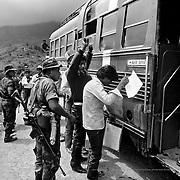Check point. Guatemala's civil war.