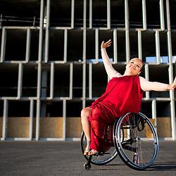 20170710: SLO, Dance - Portrait of Nastija Fijolic, Slovenian disabled dancer