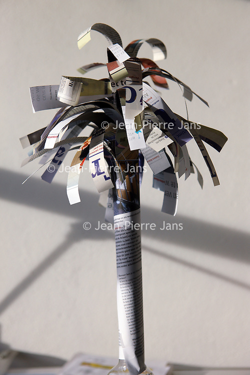 Nederland, amsterdam , 9 december 2014.<br /> Tracer Palmboom.<br /> Foto:Jean-Pierre Jans