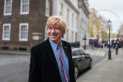 © Licensed to London News Pictures. 29/11/2017. London, UK. Michael Fabricant MP on Downing Street after an undisclosed meeting said to be about 'ideas and strategy'. Photo credit: Rob Pinney/LNP