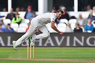 Jamie Overton of Somerset bowling during the opening day of the Specsavers County Champ Div 1 match between Somerset County Cricket Club and Surrey County Cricket Club at the Cooper Associates County Ground, Taunton, United Kingdom on 18 September 2018.