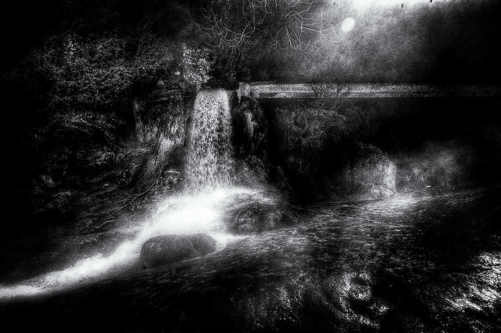 Waterfall at Thermopyle