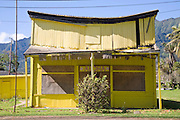 Yellow Building, Punaluu, Windward Oahu, Hawaii