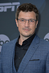 May 14, 2019 - New York, NY, USA - May 14, 2019  New York City..Nathan Fillion attending Walt Disney Television Upfront presentation party arrivals at Tavern on the Green on May 14, 2019 in New York City. (Credit Image: © Kristin Callahan/Ace Pictures via ZUMA Press)