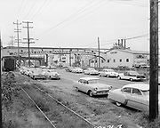 """Ackroyd 10471-3. """"Gerbers'. Nicoli Door Manufacturing Co. Commonwealth. August 24, 1961"""" (1812 N. Columbia Blvd.)"""