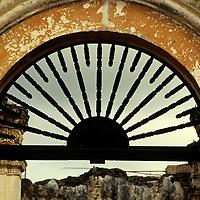 Central America, Guatemala, Antigua. Dilapidated arch in Antigua, Guatemala.