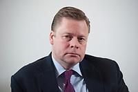21 JAN 2010, BERLIN/GERMANY:<br /> Iaian Conn, Chief executive Refining and Marketing, Executive member of the BP board of directors, waehrend einem Interview, BP Buero Berlin<br /> IMAGE: 20100121-01-039
