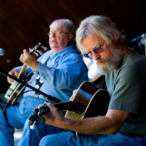 Jim & Bill, the Molloy Brothers, at a benefit concert, 10/2011
