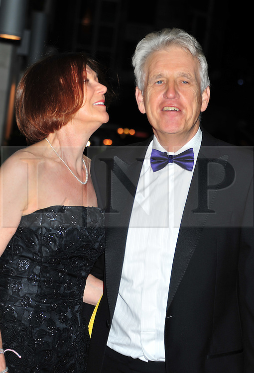 © Licensed to London News Pictures. 18/01/2012. London, England. Nick Owen and wife attend the Daily Mail Inspirational Women awards 2012 at the Marriot Grosvenor Hotel London  Photo credit : ALAN ROXBOROUGH/LNP