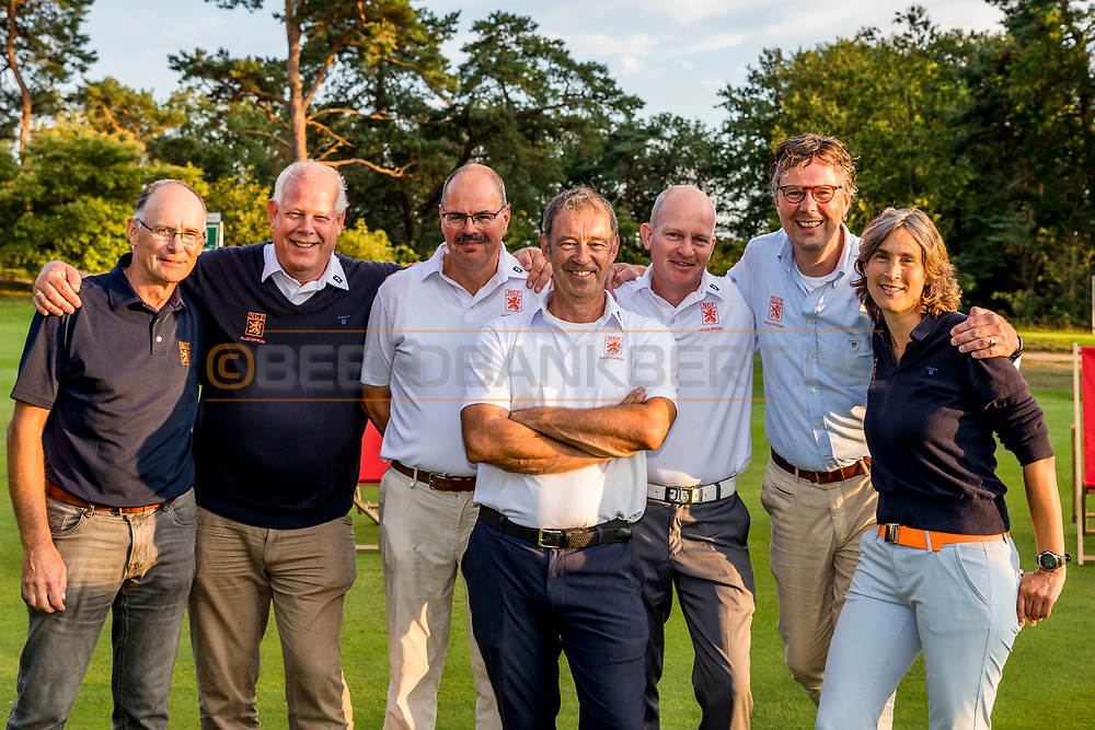 20-07-2019 Pictures of the final day of the Zwitserleven Dutch Junior Open at the Toxandria Golf Club in The Netherlands.<br /> Referees