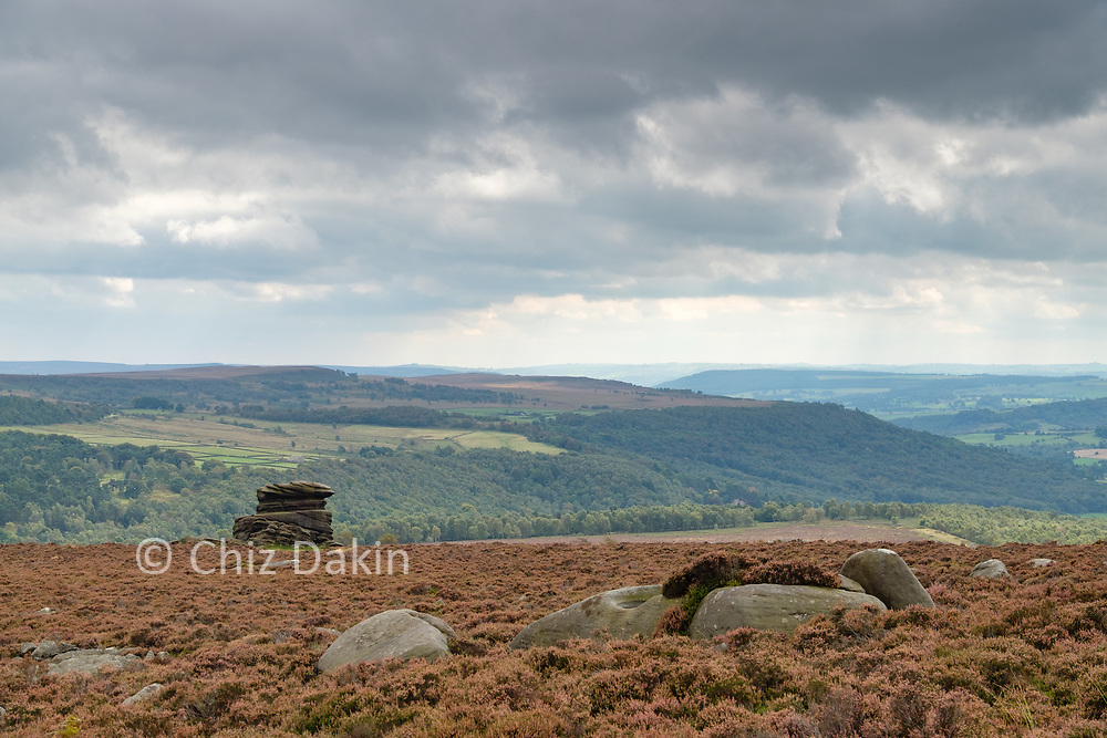 Mother Cap from Over Owler Tor