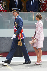 Spanish Royals Attend the Armed Forces Day - 26 May 2018