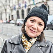 Fashionist attend LFW AW19 Day 2 at The Strand, London, UK. 16 Feb 2019