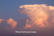 63891-02515 Storm clouds at sunset, Marion Co., IL