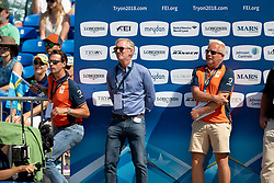Team Netherlands, Jos Lansink, Leopold Van Asten, Maarten Van der Heijden<br /> World Equestrian Games - Tryon 2018<br /> © Hippo Foto - Dirk Caremans<br /> 21/09/2018