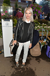 PIPS TAYLOR at a party to celebrate the launch of the Taylor Morris Eyewear's Summer Collection held at The Chelsea Gardner, 125 Sydney Street, London on 20th May 2015.