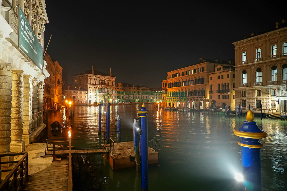 A view of Venice at night. From a series of travel photos in Italy. Photo date: Sunday, February 10, 2019. Photo credit should read: Richard Gray/EMPICS
