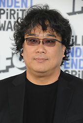 Bong Joon Ho at the 35th Annual Film Independent Spirit Awards held at the Santa Monica Beach in Santa Monica, USA on February 8, 2020.