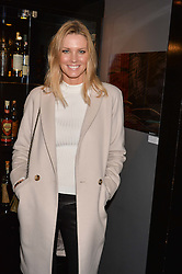 Malin Jefferies at an exhibition of photographs by Erica Bergsmeds held at The Den, 100 Wardour Street, London England. 19 January 2017.