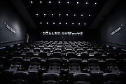 """The Dallas Cowboys theater in their new headquarters in Frisco, Texas on August 23, 2016. """"CREDIT: Cooper Neill for The Wall Street Journal""""<br /> TX HS Football sponsorships"""