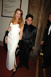 The son of the Sultan of Brunei PRINCE AZIM OF BRUNEI and JERRY HALL at the 2nd Fortune Forum Summit and Gala Dinner held at the Royal Courts of Justice, The Strand, London on 30th November 2007.<br /> <br /> NON EXCLUSIVE - WORLD RIGHTS