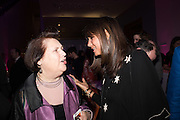 SUZY MENKES; DEBBIE VON BISMARCK, Vogue100 A Century of Style. Hosted by Alexandra Shulman and Leon Max. National Portrait Gallery. London. WC2. 9 February 2016.
