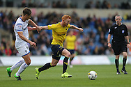 Oxford United forward Ryan Taylor (20) gets away from his marker during the Sky Bet League 2 match between Oxford United and AFC Wimbledon at the Kassam Stadium, Oxford, England on 10 October 2015.
