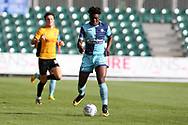 Eberechi Eze of Wycombe Wanderers in action. EFL Skybet football league two match, Newport county v Wycombe Wanderers at Rodney Parade in Newport, South Wales on Saturday 9th September 2017.<br /> pic by Andrew Orchard, Andrew Orchard sports photography.