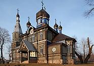 Puchły. Drewniana cerkiew z 1913 roku