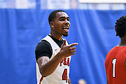 NORTH AUGUSTA, SC. July 10, 2019. Jalin Sinclair 2020 #4 of PSA Cardinals 17U at Nike Peach Jam in North Augusta, SC. <br /> NOTE TO USER: Mandatory Copyright Notice: Photo by Alex Woodhouse / Jon Lopez Creative / Nike