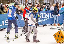 25.01.2020, Streif, Kitzbühel, AUT, FIS Weltcup Ski Alpin, im Bild v.l. Alfons Mensdorff-Pouilly, Didier Cuche, Elena Bokova // f.l. Alfons Mensdorff-Pouilly Didier Cuche Elena Bokova during the KitzCharityTrophy 2020 at the Streif in Kitzbühel, Austria on 2020/01/25. EXPA Pictures © 2020, PhotoCredit: EXPA/ Stefan Adelsberger