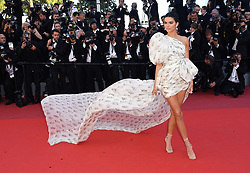 Kendall Jenner attending the 120 Beats Per Minute Gala Screening as part of the 70th Cannes Film Festival. Photo credit should read: Doug Peters/EMPICS Entertainment