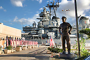 Fleet Admiral Chester W. Nimitz, USS Missouri Memorial, Ford Island, Pearl Harbor, Oahu, Hawaii