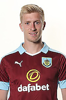 BURNLEY, ENGLAND - JULY 20:  Ben Mee of Burnley poses during the Premier League portrait session on July 20, 2016 in Burnley, England. (Photo by Barrington Coombs/Getty Images for Premier League)