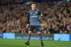31st October 2017 - UEFA Champions League - Group A - Manchester United v SL Benfica - Alex Grimaldo of Benfica - Photo: Simon Stacpoole / Offside.